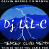 Calvin Harris - This Is What You Came For [ lil c jersey remix ]