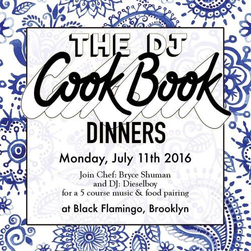 DJ Cookbook Dinner DNB Mix - July 2016