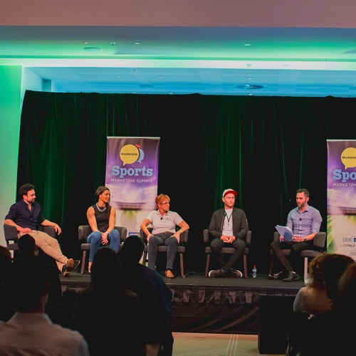 Ep 42 Ask an Athlete panel discussion, live at Mumbrella Sports Marketing Summit 2016