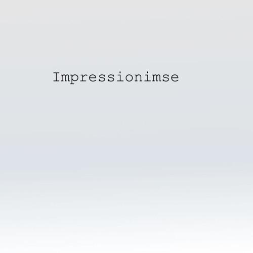 Impressionisme (Impression, Soleil Levant) - Tilegnet David