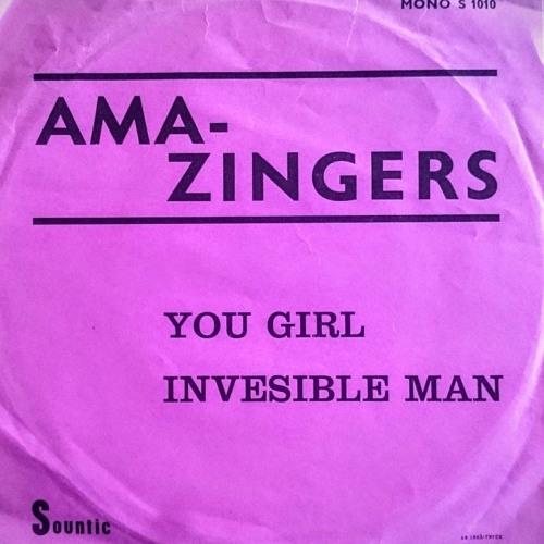 Amazingers Invisible Man