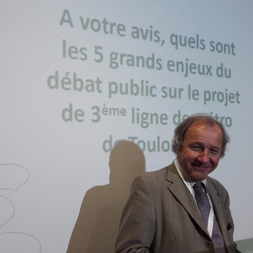 Jacques Archimbaud parle du débat sur la 3e ligne de métro à Toulouse, France Bleu Toulouse