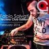 Wonderland JAKO FM - Fabio Salvati - Techno Club Edition, February 2016