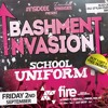 BASHMENT INVASION : 2nd September : Fire Nightclub  | MIXED BY @DJ_SCARFZ