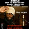 Interview With King Lorenzo On Uniquevibez 6th August 2016