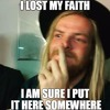 Lost My Faith