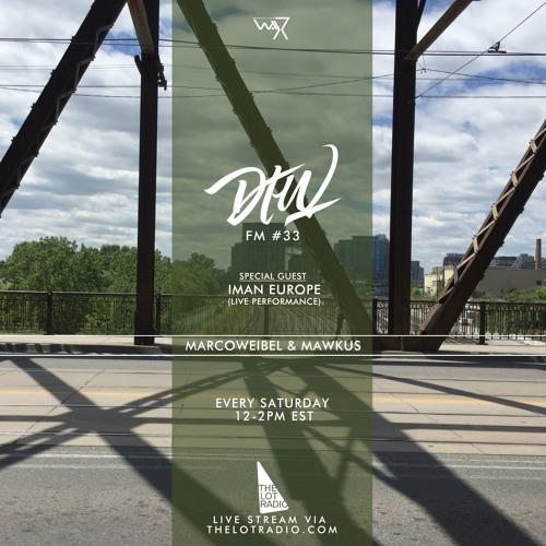 Darker Than Wax FM #33 ft. Iman Europe (Live) • 6th August 2016