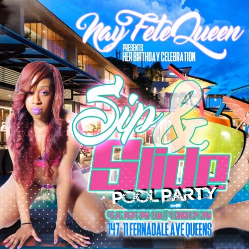 Fete Queen Nay Pool Party 8.6.16