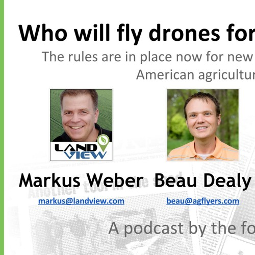 UAS Jobs in Agriculture - Who's Flying the Drones?