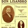 Don Lisandro (Música de Manuel Solano)