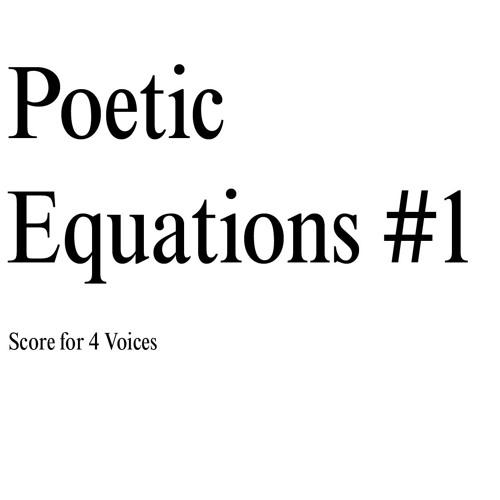 Ausschnitt PoeticEquation