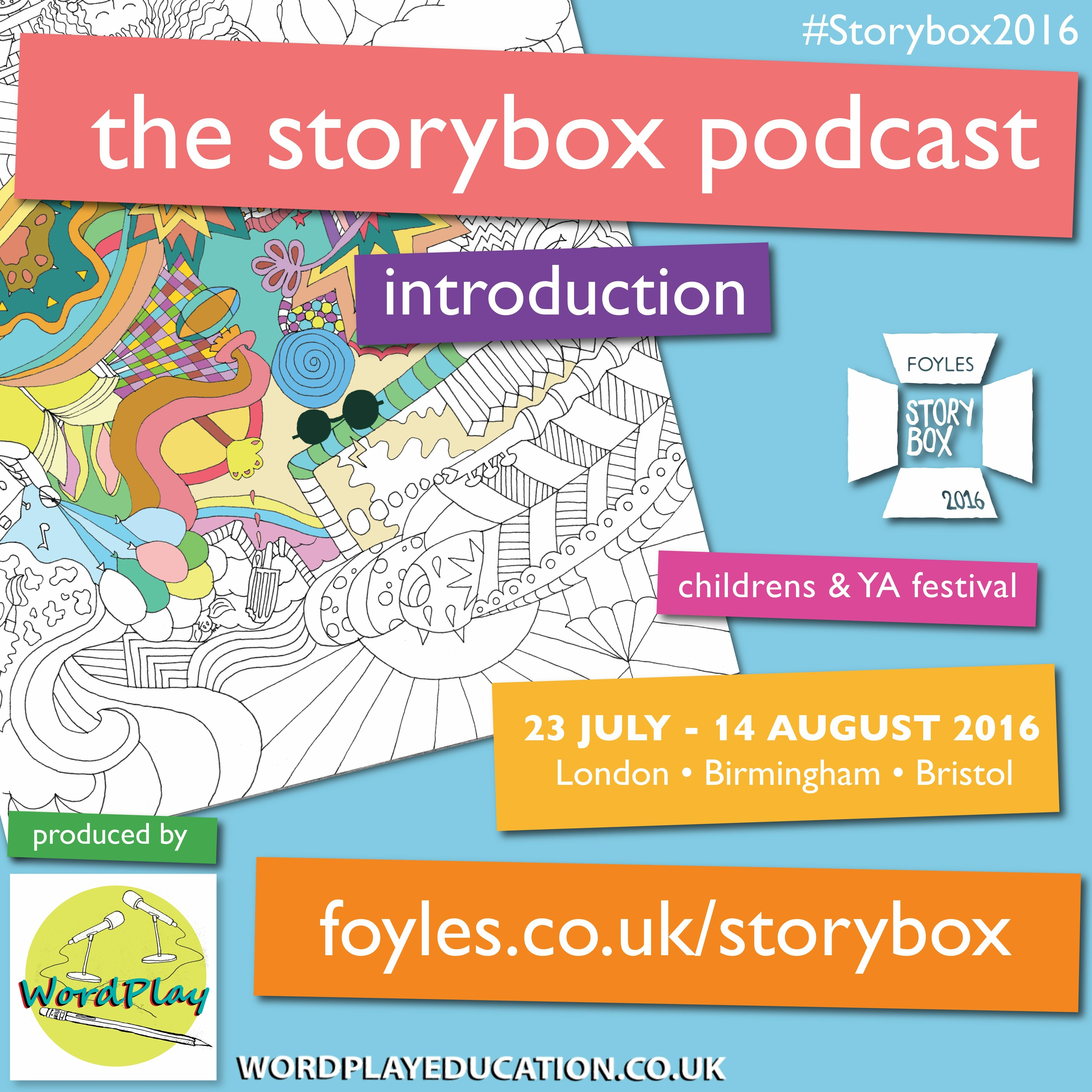 Welcome to The Foyles Storybox Podcast