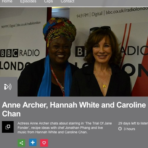 BBCRadioLondon Interview with Jumoke Fashola
