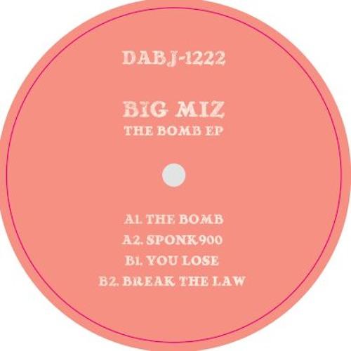 Big Miz - The Bomb EP - DABJ-1222