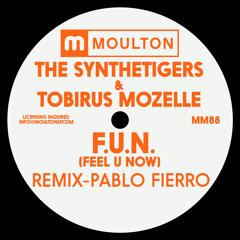 Premiere: The SyntheTigers & Tobirus Mozelle - F.U.N (Feel U Now) (Pablo Fierro Remix)