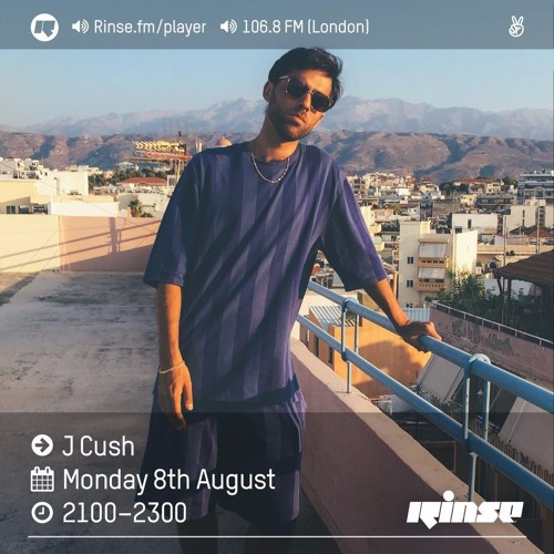 Rinse FM Podcast - J Cush - 8th August 2016