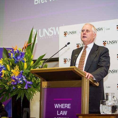 Hal Wootten Lecture 2016 - BretWalkerSC
