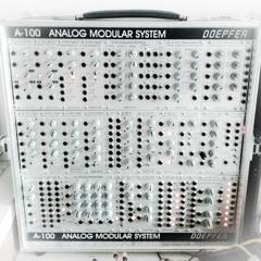 100% Doepfer A-100: Thru Zero FM PM A-110-4 A-137-2 Demo
