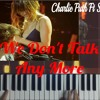 We Don't Talk Any More - Phu Nguyen Piano Cover mp3