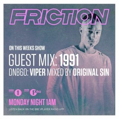 DNB60: VIPER Mixed by Original Sin 8th august 2016