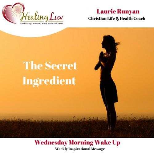 Audio 55 - The Secret Ingredient