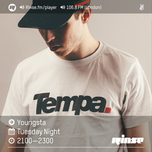 Rinse FM Podcast - Youngsta - 9th August 2016