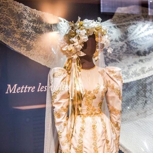 Musée Mode et Dentelle - Just Married, une histoire du mariage : Mettre les voiles