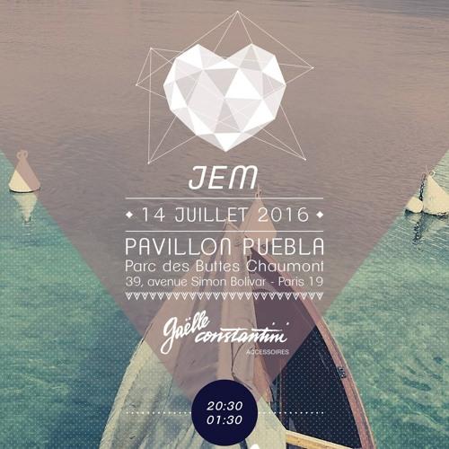 JEM @ Pavillon Puebla, Paris - B&C 14/07/16