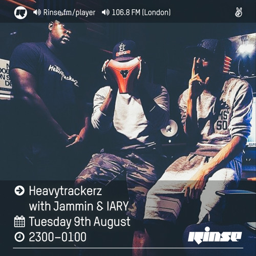 Rinse FM Podcast - The Heavytrackerz w/ Jammin + IARY - 9th August 2016