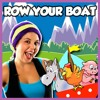 Row Row Row Your Boat | Nursery Rhyme Baby Song | Row Your Boat Kids Song
