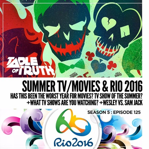 Episode 125: Summer TV/Movies & Rio 2016