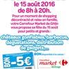 FETE DE L ETE : Market Groupe Mestdagh Ghlin