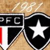 MATÉRIA ESPECIAL - São Paulo x Botafogo (1981) com Everton e Mendonça