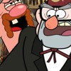 Titio Avô VS. Stan Pines(Gravity Falls) | Batalha de Rap