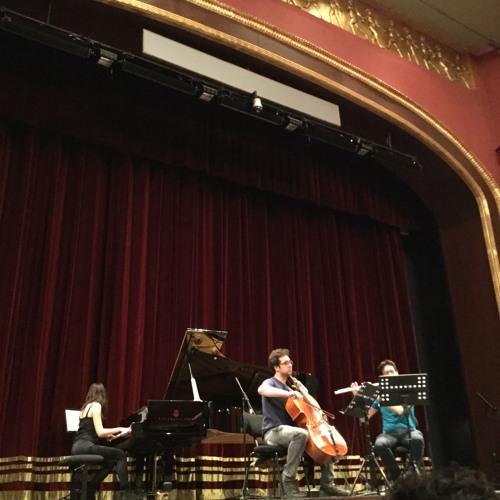 Aslıhan Keçebaşoğlu Trio For Flute, Cello And Piano