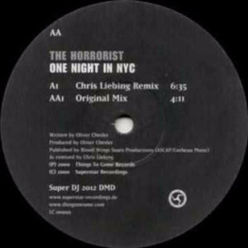 The Horrorist - One night in N.Y.C. (Chris Liebing remix)