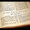 Jeff Tyler: The Book Of Romans Session # 10 - Romans Summary (8-16-2016)