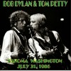 Bob Dylan Tom Petty live, Across The Borderline, Tacoma 1986