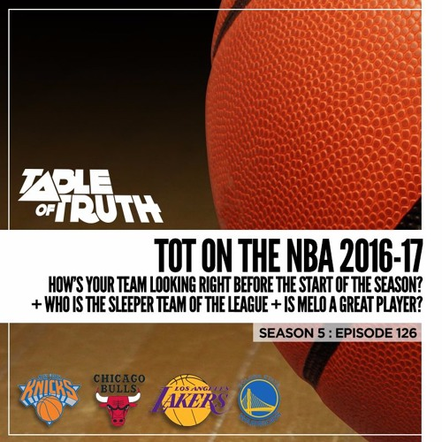 Episode 126: ToT on the NBA 2016-17