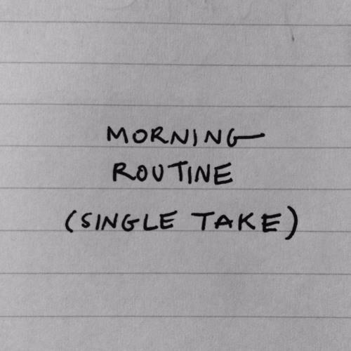 MORNING ROUTINE (single take), Day 9