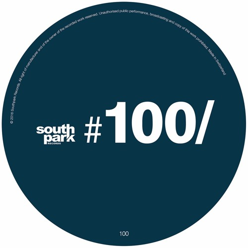 "The Compilation ""Southpark Records #100"""
