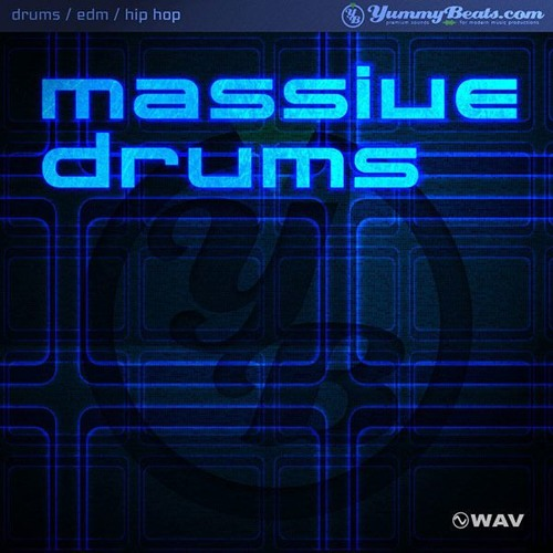 Massive Drums 1 - Drum Library [audio demo]