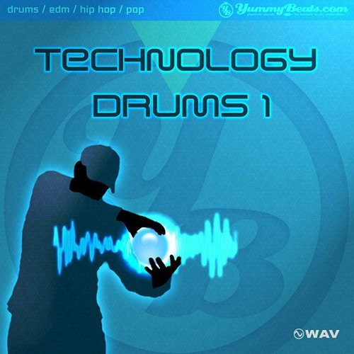 Technology Drums 1 - Drum Library