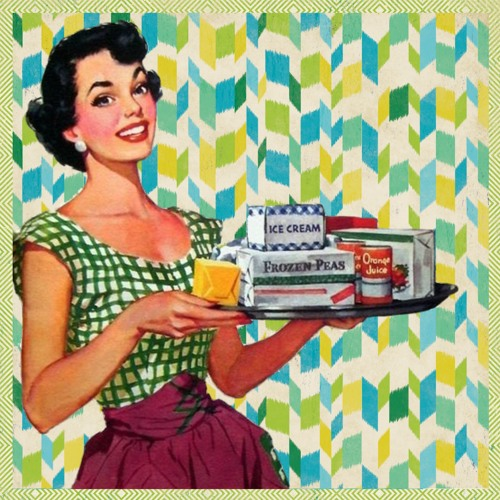 Картинки по запросу 50's housewife
