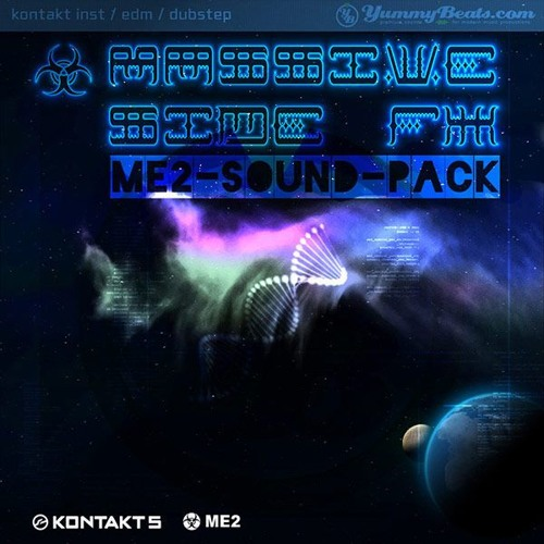 Massive Side FX - Sound Pack for the ME2 - EDM/Dubstep Synth