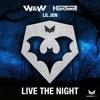 Live The Night vs. Footrocker vs. Fall Into The Sky (Hardwell Mashup)