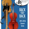 Back-to-Back Concert Series Sampler (2015 - 2016)