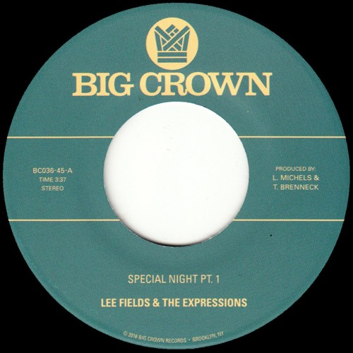 Lee Fields & the Expressions - Special Night - BC036-45 - Side A