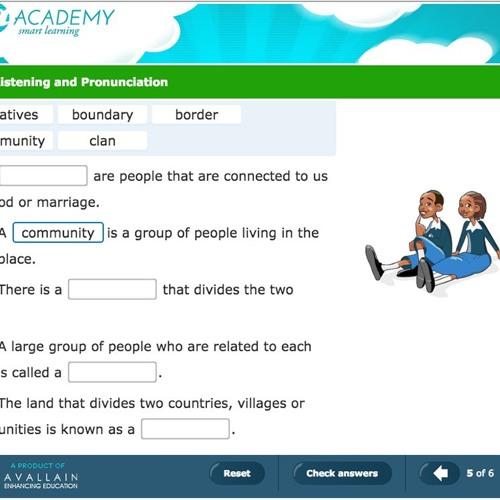 Digital Learning - Avallain - a-Academy programme voice sample1