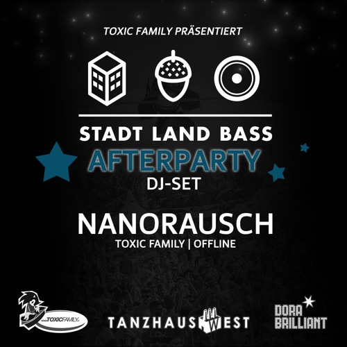 13.08.2016 - Nanorausch - Stadt Land Bass Afterparty | TanzhausWest (FFM) | Mainfloor
